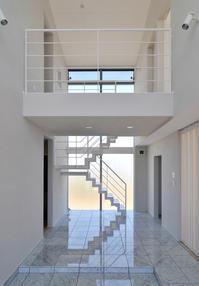 大理石床の玄関ホール! - 島田博一建築設計室のWEEKLY  PHOTO / 栃木県 建築設計事務所