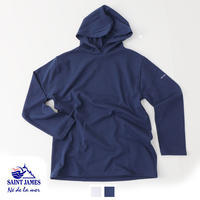 SAINT JAMES [セントジェームス] HOODED T-SHIRT [17JC-OUES.CAPU/SOLID] パーカー・フードシャツ・長袖・Tシャツ・無地 MEN'S/LADY'S - refalt blog