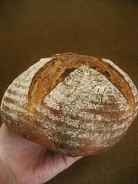 カンパーニュ(ライ麦チェック) - slow life,bread life