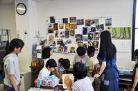 児童画クラス「名画のレリーフ」ご紹介 - 大阪の絵画教室|アトリエTODAY