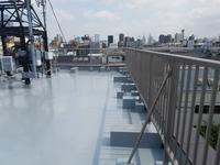 屋上アルミ手摺工事完了です。 - 一場の写真 / 足立区リフォーム館・頑張る会社ブログ