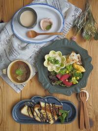 アーモンドトーストの朝ごはん - 陶器通販・益子焼 雑貨手作り陶器のサイトショップ 木のねのブログ