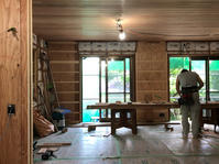 白鳩の家進捗状況5 - 国産材・県産材でつくる木の住まいの設計 FRONTdesign  設計blog