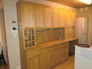 食器棚(カップボード)の納品 -