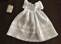 ベビー洗礼式用オーガンジードレス26 - スペイン・バルセロナ・アンティーク gyu's shop