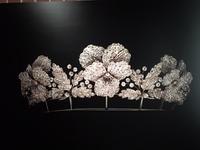 ショーメ*CHAUMET*のティアラの完コピ、完成しました - 布の花~花びらの行方 Ⅱ