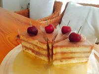チョコレートケーキ🍰 - Cafe Myrtille