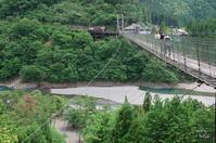 十津川村谷瀬の吊り橋ぶらり(撮影順)2/2 - ぶらり記録 2:奈良・大阪・・・