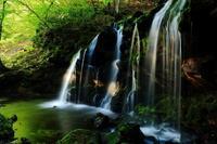 猿壺の滝 - 彩