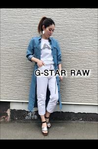 2019SS「G-STAR RAW ジースタ ロウ」新作シャツワンピース入荷です。 - UNIQUE SECOND BLOG