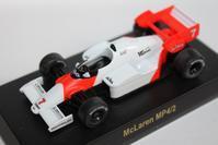 1/64 Kyosho McLaren F1 MP4/2 - 1/87 SCHUCO & 1/64 KYOSHO ミニカーコレクション byまさーる