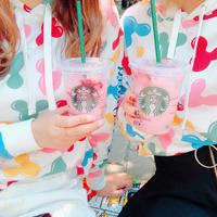【アメリカ】ディズニー内にあるスタバ♡大人気のピンクドリンクとオリジナルカップ - ひめぴょんぶろぐ