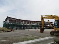 鋭意進行中! クルーズターミナル建設~金沢港 - タビノイロドリ