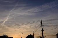 夕景 - 空を見上げて
