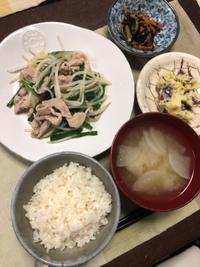 豚ニラもやし炒め - 庶民のショボい食卓