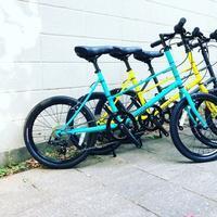 BRUNO 2020『 MIXTE BLK EDITION 』ブルーノ ミニベロ ミキスト おしゃれ自転車 自転車女子 自転車ガール ポタリング - サイクルショップ『リピト・イシュタール』 スタッフのあれこれそれ