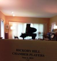 個人宅での室内楽Hickory Hill Chamber Players - しんしな亭 in シンシナティ ブログ