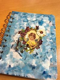 メモ帳を天使にリメイク - キモノとリメイク