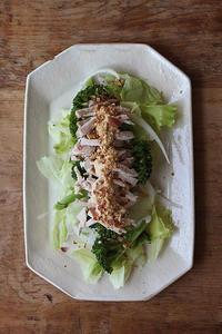 ローストポークサラダ - Nasukon Pantry
