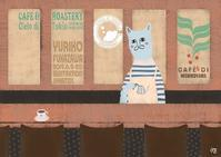 イラスト展「amigatto」在店日時のお知らせ - 深澤ユリコ    百箱---創作と旅と日々のこと---