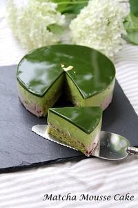 抹茶ムースケーキ - SUGAR & BUTTER