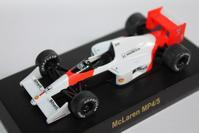 1/64 Kyosho McLaren F1 MP4/5 - 1/87 SCHUCO & 1/64 KYOSHO ミニカーコレクション byまさーる