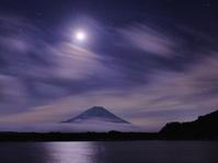 富士山と月 - 相模原・町田エリアの写真サークル「なちゅフォト」ブログ!