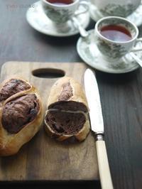 「しょくでんぷの里」のパン - お茶をどうぞ♪