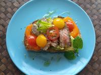 ビーフタルティーヌ - 料理研究家ブログ行長万里  日本全国 美味しい話