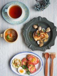 トマトチーズトースト - 陶器通販・益子焼 雑貨手作り陶器のサイトショップ 木のねのブログ