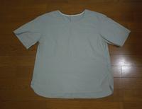 ユニクロのブラウスTシャツのリメイク - フリルの子供服