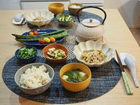 お食い初めの残り物で・・晩ごはん☆ - 365のうちそとごはん*:..。o○☆゚