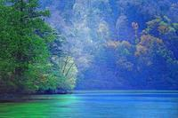 奥日光湯の湖 - 光 塗人 の デジタル フォト グラフィック アート (DIGITAL PHOTOGRAPHIC ARTWORKS)