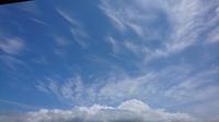 雲百景(3)。 - 青い海と空を追いかけて。