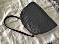 黒シルクビンテージバッグ23 - スペイン・バルセロナ・アンティーク gyu's shop
