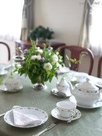6月の紅茶レッスン - お茶をどうぞ♪