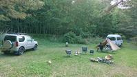 ジムニーで車中泊梅雨入り野営キャンプ - コアラとタヌキ