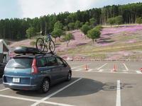 2019.05.28 芝桜滝ノ上公園 - ジムニーとピカソ(カプチーノ、A4とスカルペル)で旅に出よう
