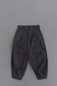 HAVERSACK Cotton Typewriter Cargo Pants (Black) - un.regard.moderne