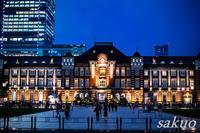 雨の東京駅 - sakuoのフォトブログ