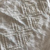次のハーダンガー刺繍途中経過と…刺繍枠のこと - きままに自由時間