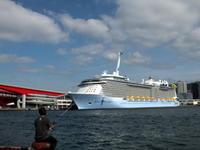 """6月9日(日)、神戸港第4突堤に客船""""SPECTRUM OF THE SEAS""""が入りました - フォトカフェ情報"""