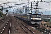 藤田八束の鉄道写真@京都駅での鉄道写真、いろんな列車が貨物列車が・・・大賑わいの京都駅、京都は海外からのお客様で異国みたい - 藤田八束の日記