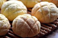レーズン酵母でメロンパン - 森の中でパンを楽しむ