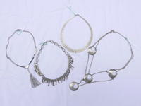 French silver necklace - carboots