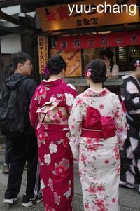 美観地区着物姿の外国人観光客 - 下手糞でも楽しめりゃいいじゃんPHOTO BLOG