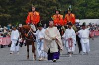葵祭(1)本列・乗尻@京都御苑 - たんぶーらんの戯言