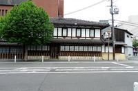 京都二条通りを歩く - レトロな建物を訪ねて
