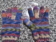 右手袋・親指編み上がり~&時の記念日の思い出 - あれこれ手仕事日記 new!