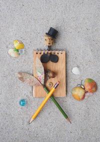 メモと鉛筆をご用意下さい - 日々の営み 酒井賢司のイラストレーション倉庫
